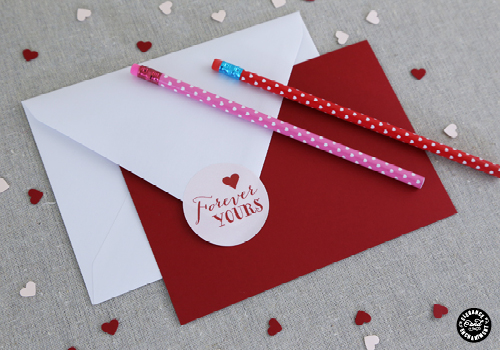 Printable Valentine's Day Stickers from Elegance and Enchantment