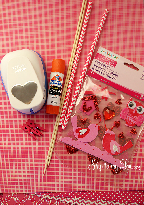 Heart Cake Bunting Supplies