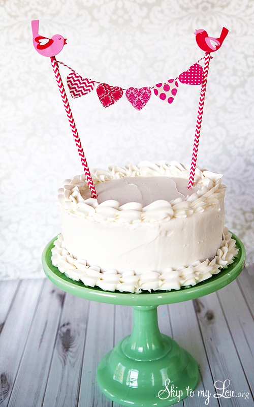 Heart Cake Bunting