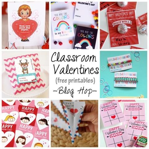 free classroom printable valentines