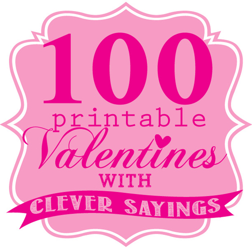 printable valentine cards with cute sayings - Clever Valentine Sayings
