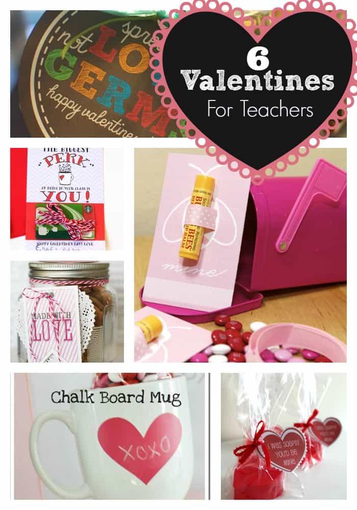 Http Www Skiptomylou Org 6 Easy Valentines For Teachers