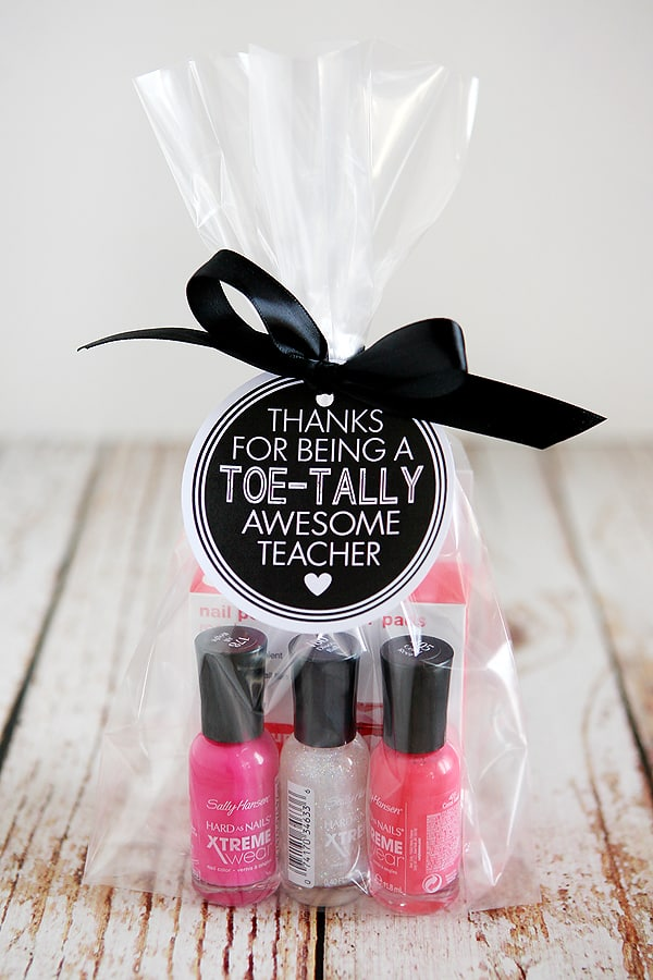 nail polish teacher gift