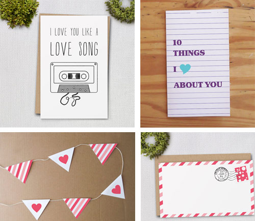 valentines printables by clementine creative