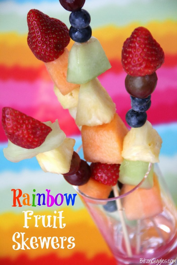 fruit skewers