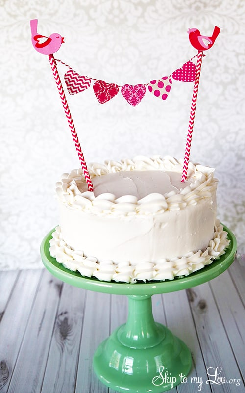 How To Make Buntings For Cake