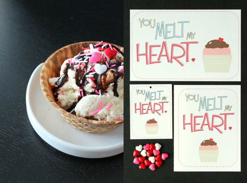 Free Valentine's Day Printables from Crafted by Lindy