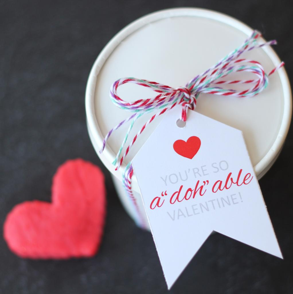 Playdough Adohable Valentines - The Twinery