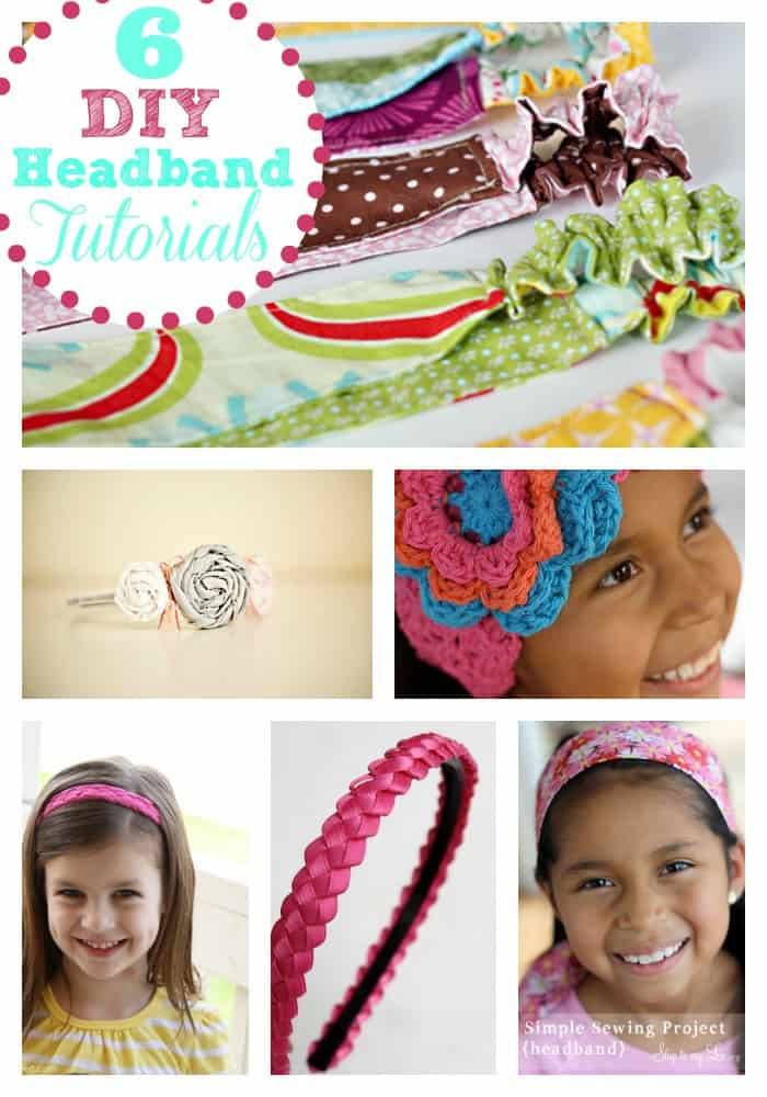 6 DIY Headband Tutorials Skip