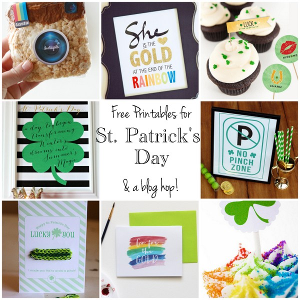 st patricks printables