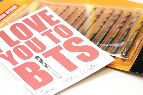 Love You To Bits - Free Printable Valentine
