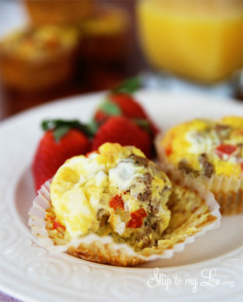sausage muffin egg cups