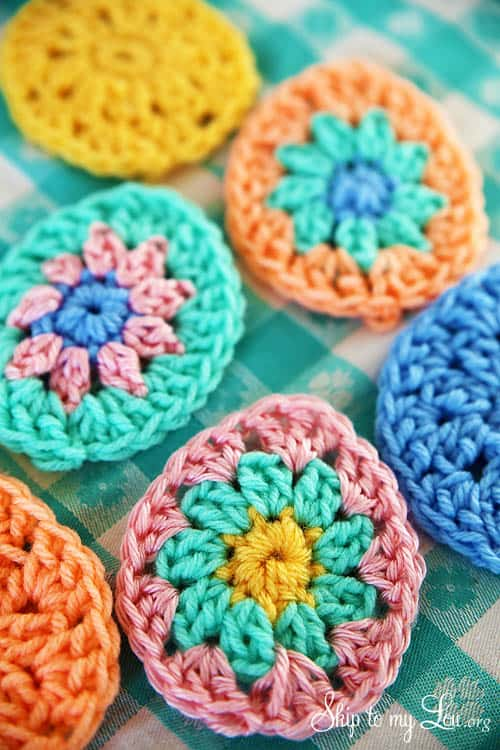 Crochet Easter Egg Garland Skip To My Lou