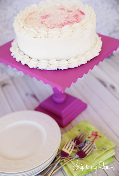Diy Cake Stand Skip To My Lou