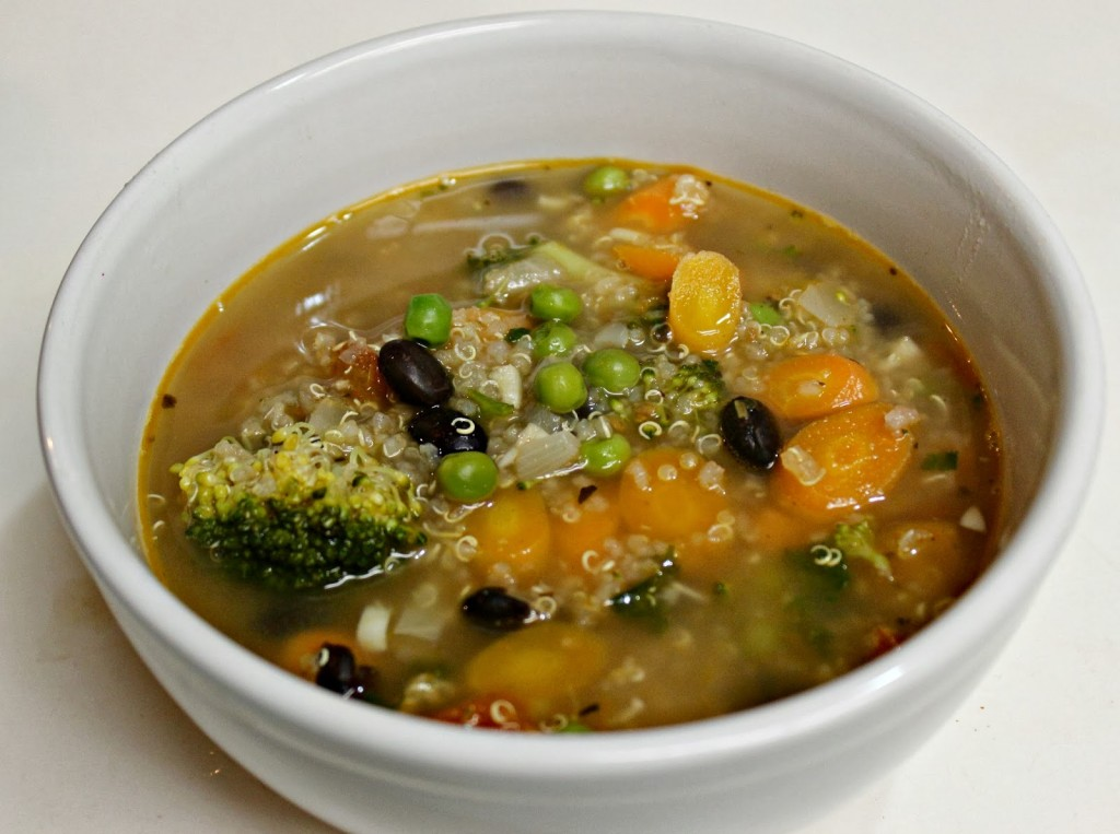 easy quinoa Soup