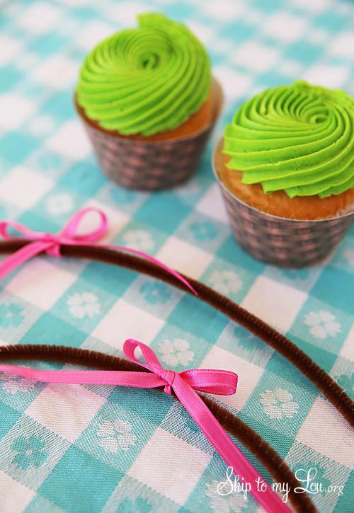 baket cupcake tutorial