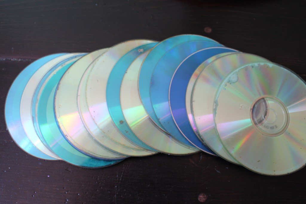 cds for disco ball