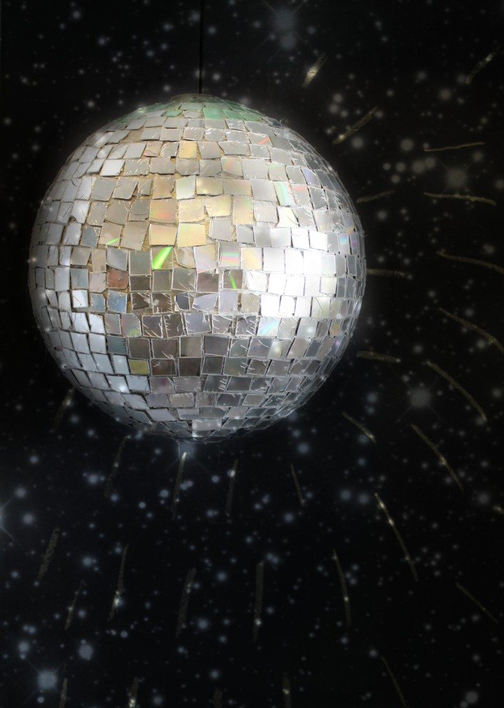 Diy Disco Ball By Girl With A Glue Gun Skip To My Lou
