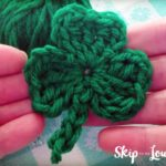 free crochet shamrock pattern
