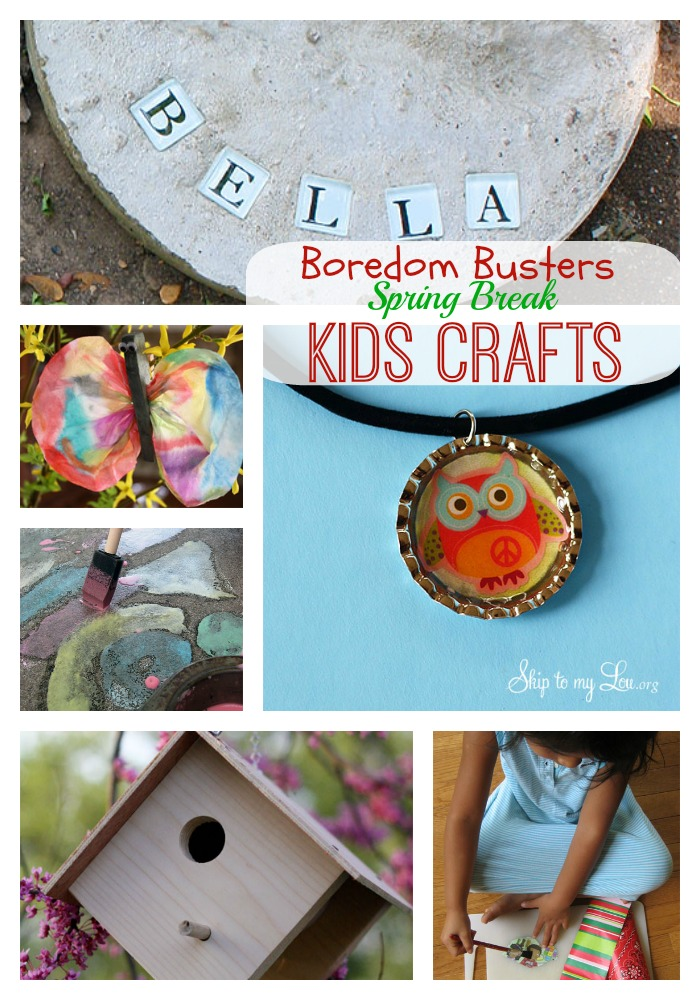 kids craft collage