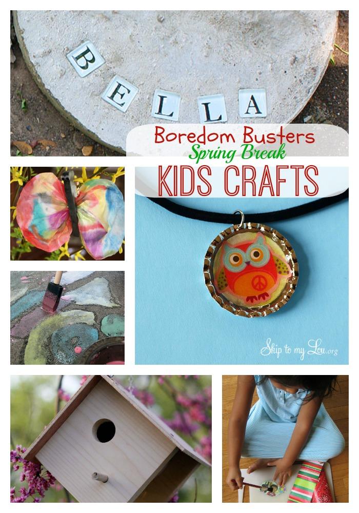 kids craft collage