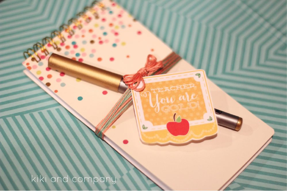 Cute Teacher's Appreciation gift from kiki and company