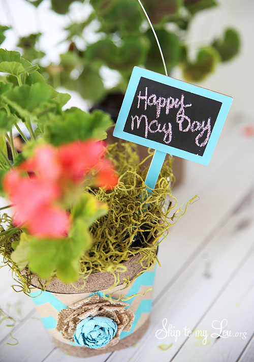 Easy May Day Basket to make