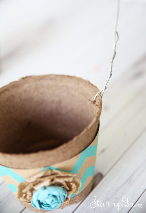 DIY basket for May Day