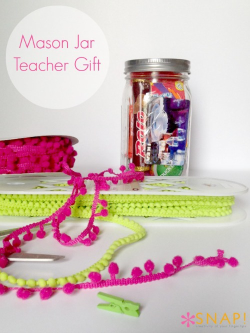 Mason Jar Thank You Gift via @snapconf for @skiptomyloublog