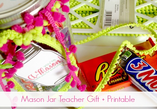 A-Mason thank you gift by @snapconf for teacher appreciation week