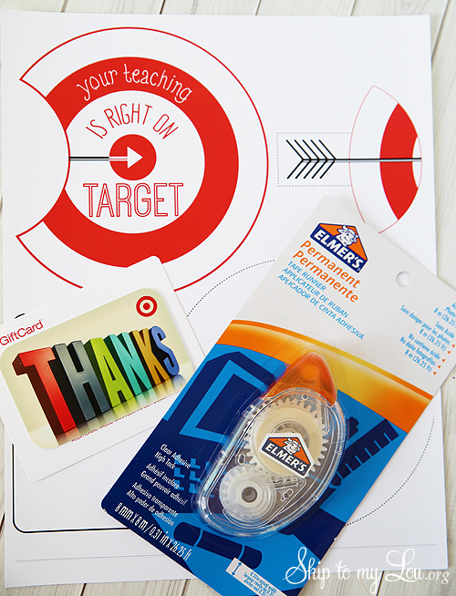 Target gift card holder supplies
