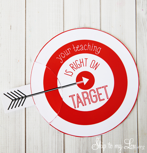 free printable Target gift card holder