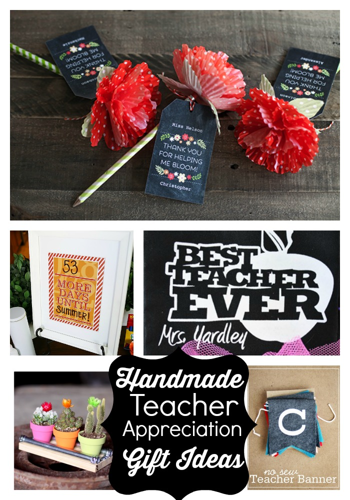 handmade teacher gift ideas