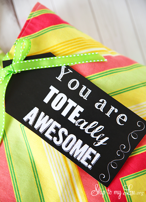 teacher tote bag gift
