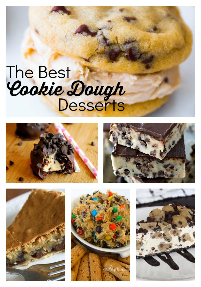 cookie dough desserts