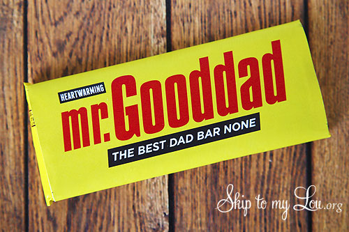 mr gooddad candy bar cover