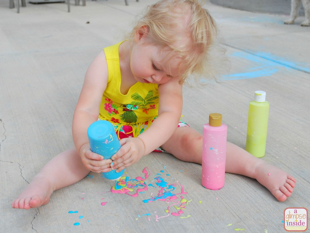 This 3D chalk recipe is so cool!