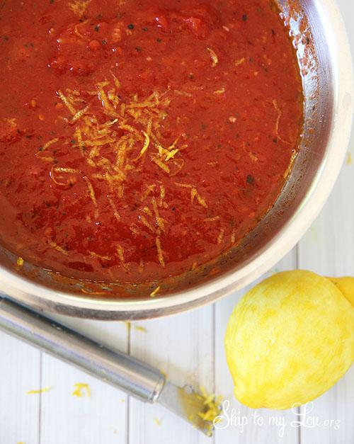5 minute spicy marinara sauce