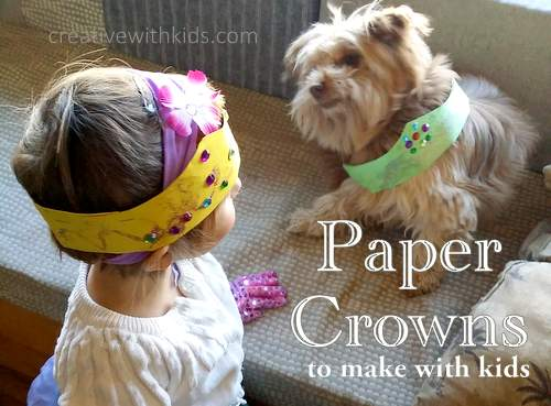 How to make a paper crown for kids