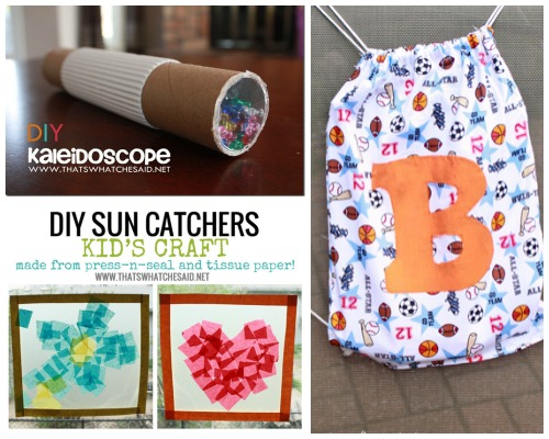 Kid Crafts at thatswhatchesaid.net