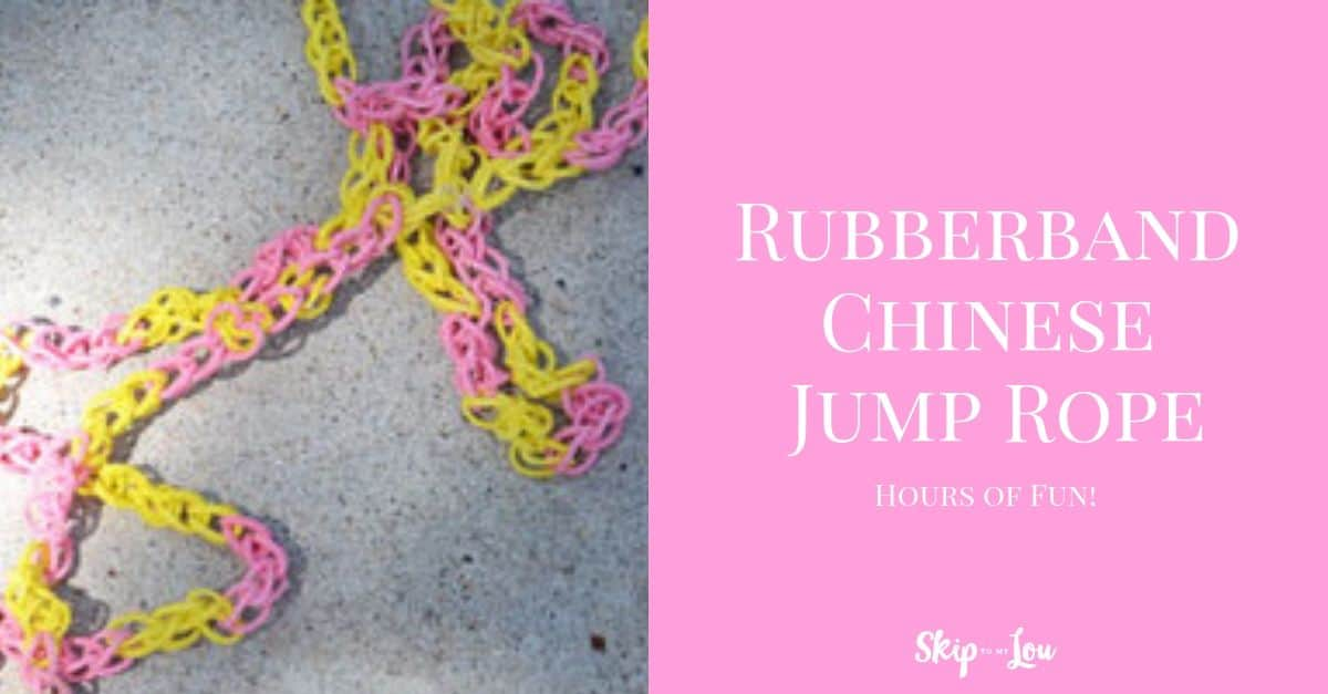 Rubber Band Chinese Jump Rope Skip To My Lou