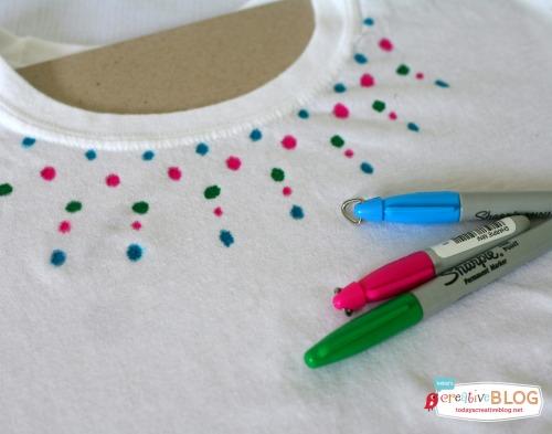 Sharpie Tie Dye   SkipToMyLou.org   TodaysCreativeBlog.net