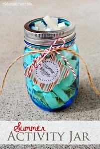 Summer Activity Jar for Kids at thebensontreet.com