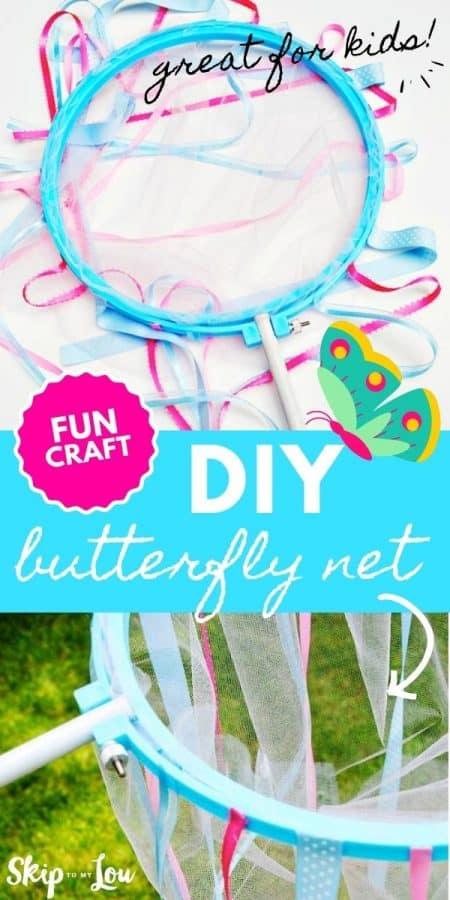 diy butterfly net craft PIN