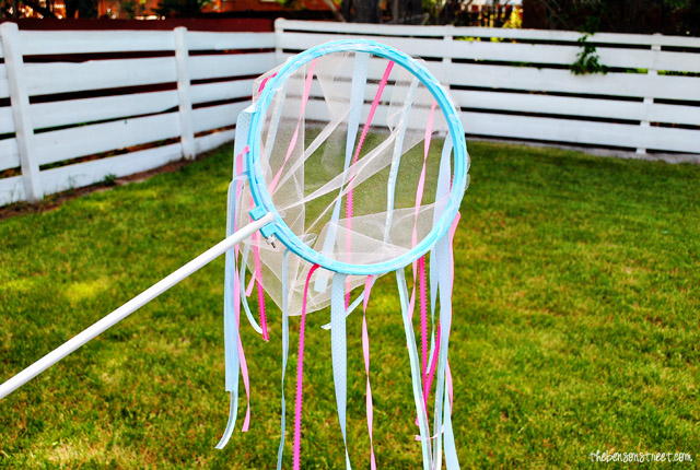 easy to make your own butterfly net at thebensonstreet.com