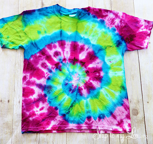 Coolest Diy Tie Dye T Shirt Bag Skip To My Lou
