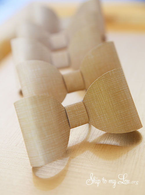 DIY Bow Napkin Rings