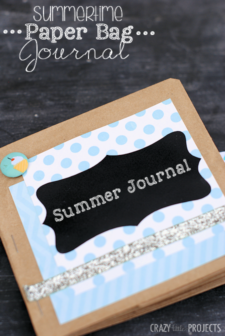 Kid's Summer Paper Bag Journal