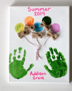 DIY Summer Fun Memory Making Craft
