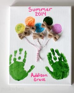 DIY Summer Fun Memory Making Craft